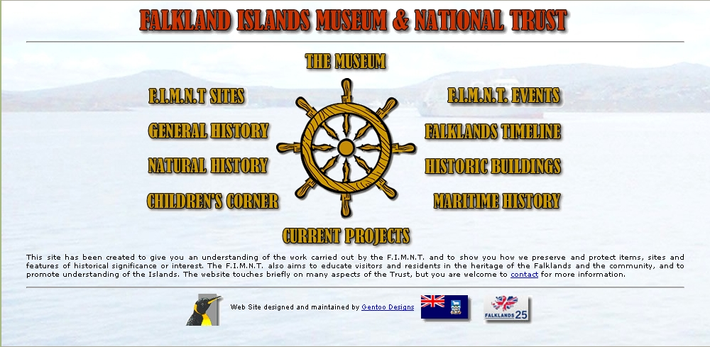 Falkland Islands Museum Home Page